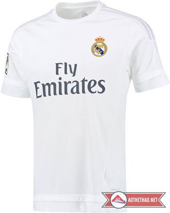 áo bóng đá real madrit 2015 - 2016 Sân nhà