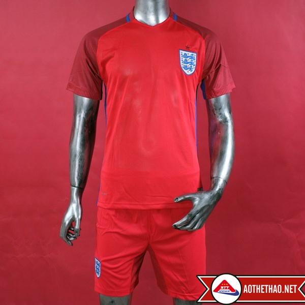mặt trước áo bóng đá đội tuyển anh đỏ