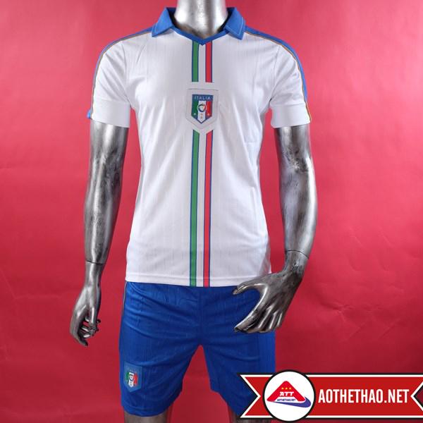 Mặt trước áo bóng đá đội tuyển quốc gia ý sân khách