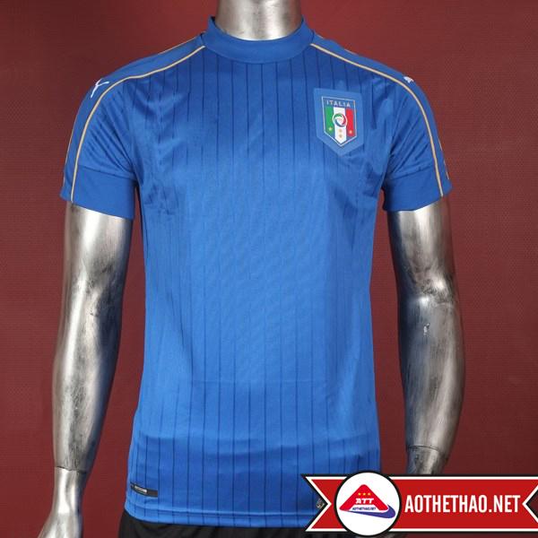 Mặt trước Mẫu áo bóng đá đội tuyển quốc gia ý Euro 2016 sân nhà tại aothethao.net