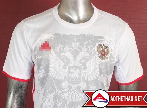 Ngực áo bóng đá đội tuyển nga sân khách