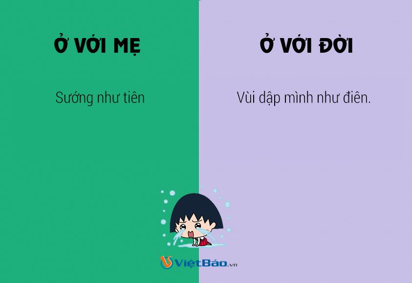 sự khác biệt của mẹ và người đời