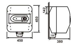 thông  số kỹ thuật bình nóng lạnh picenza S30EX 30l