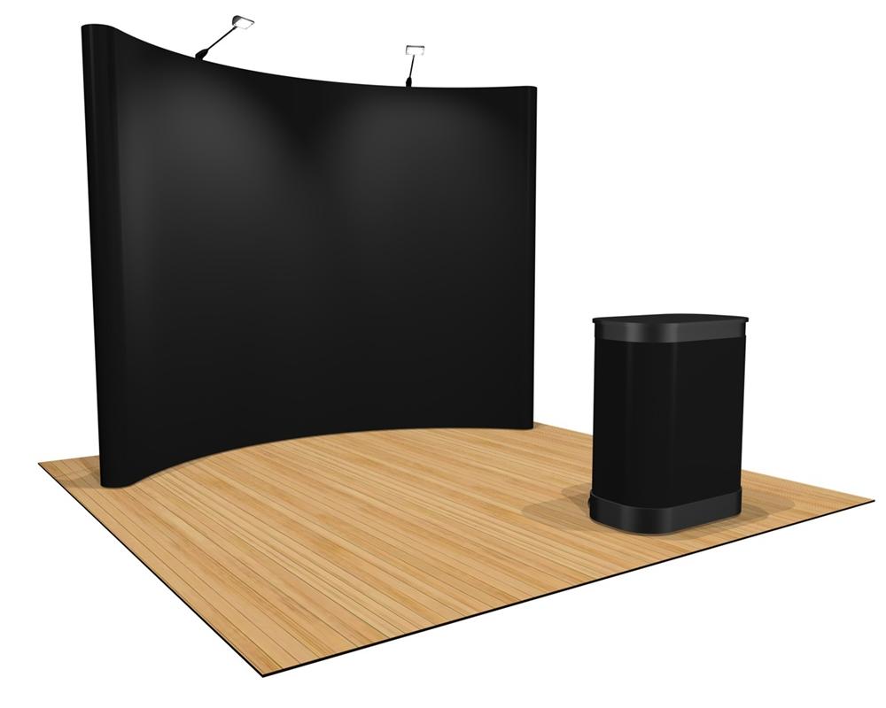 Khung Backdrop di động cong
