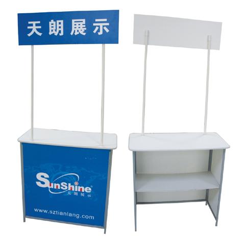 booth quảng cáo, quầy bán hàng di động bằng sắt