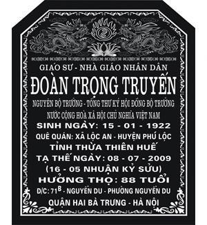 Khắc bia mộ uy tín tại Hoàng Văn Thụ