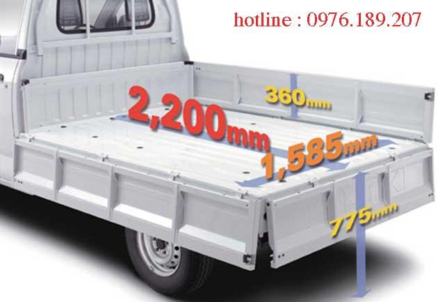 thùng xe suzuki super carry pro tiện dụng