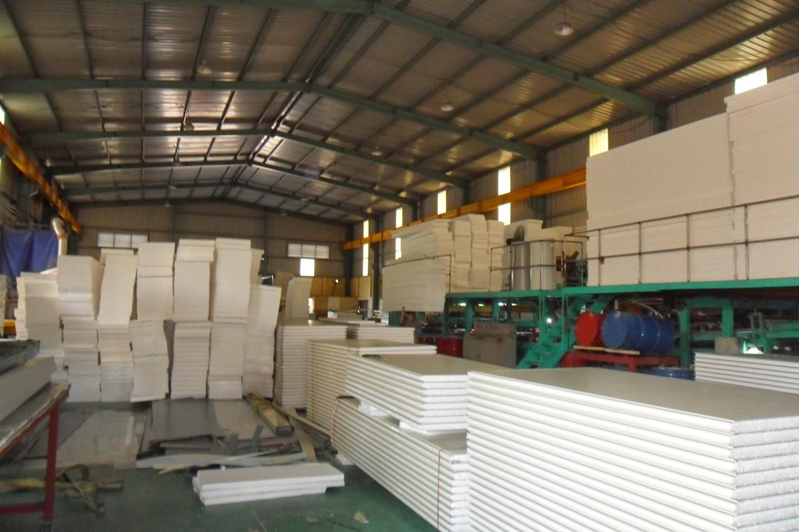 nhà máy sản xuát xốp chống nóng