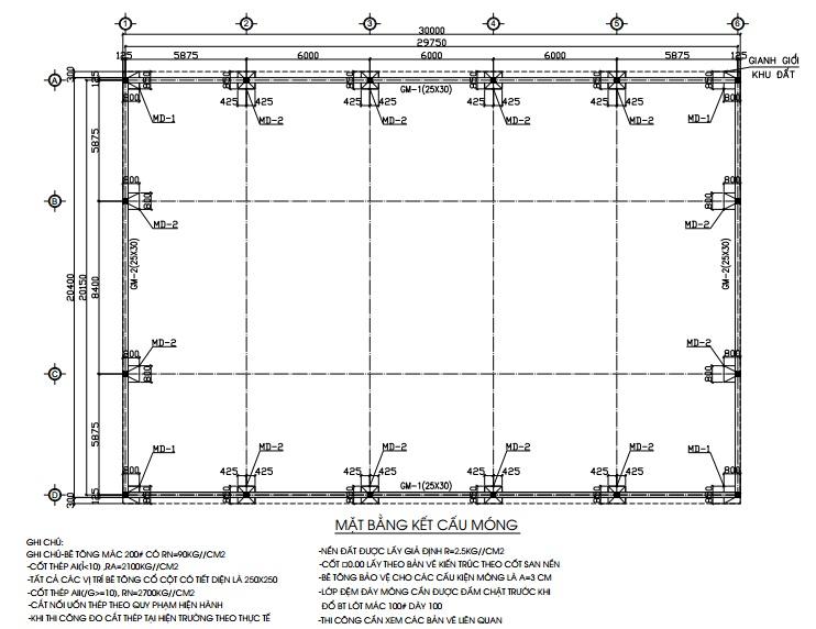 cấu tạo móng nhà lắp ghép 2 tầng