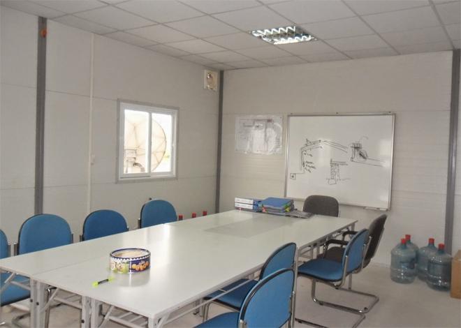 Bên trong nhà văn phòng điều hành