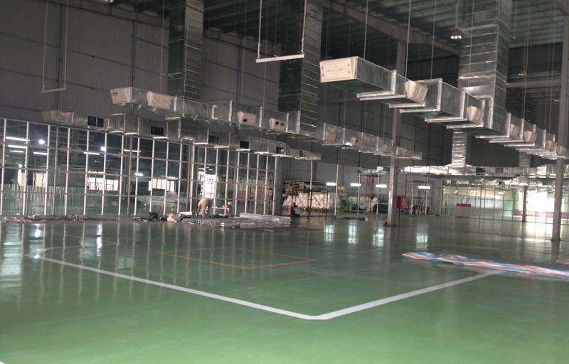hệ thống làm mát nhà xưởng ABC Bắc Ninh