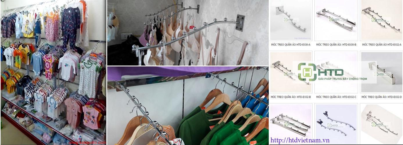 Những dòng móc treo quần áo sử dụng nhiều nhất hiện nay