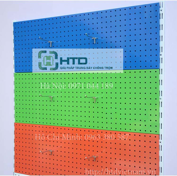Hướng dẫn lắp đặt kệ treo phụ kiện tấm lỗ đơn giản