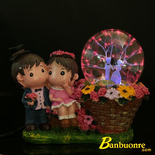 quả cầu ma thuật plasma có thể làm đèn ngủ, đèn trang trí rất độc đáo