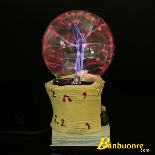 quả cầu plasma có đường kính 4 inch