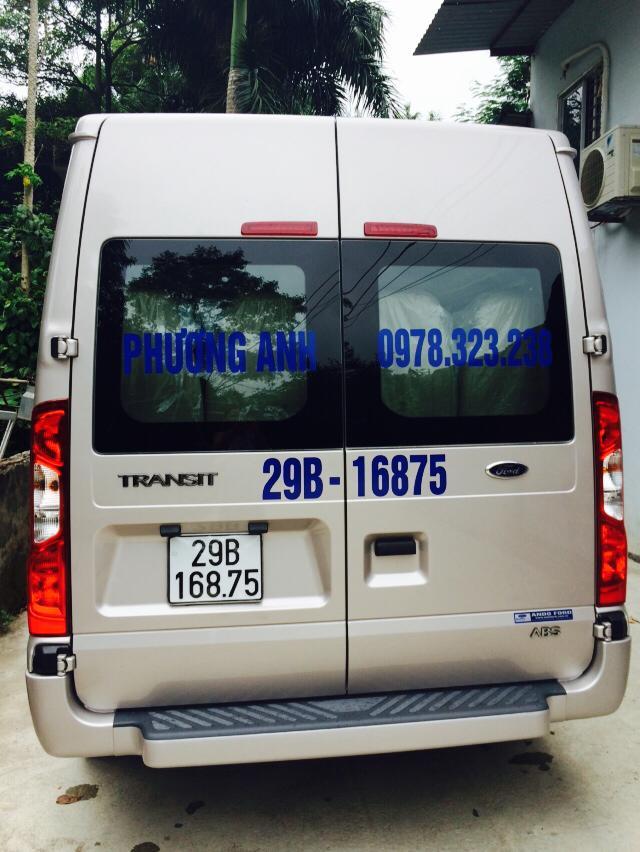Thuê xe du lịch của Phương Anh để tiết kiệm chi phí du lịch