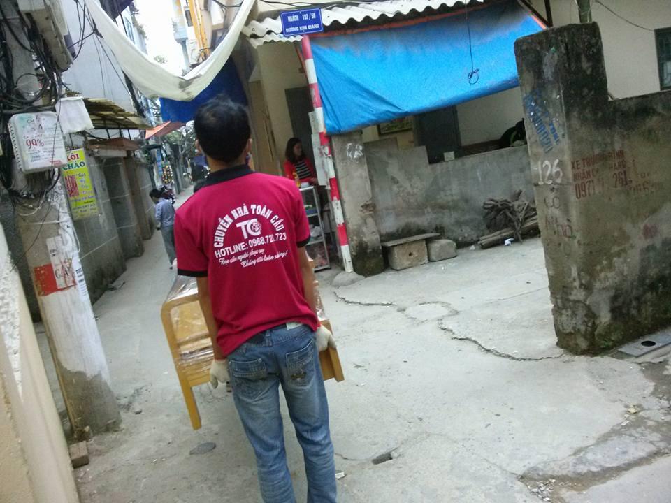 Chuyển nhà trọn gói tại Hà Nội