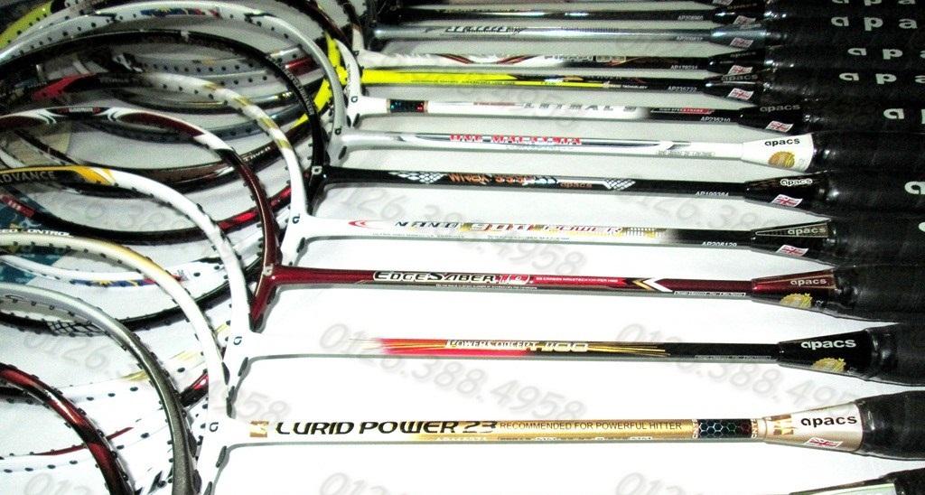Những lưu ý khi đi mua vợt cầu lông