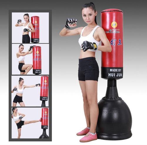 Sử dụng trụ đấm đá boxing HuiJun HJ- G075A