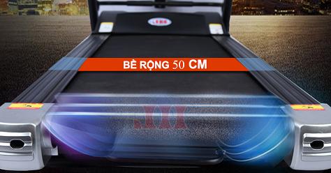 thảm chạy máy chạy bộ điện Ganas CR 61011