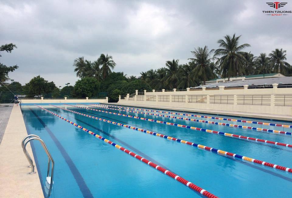 phao chắn sóng bể bơi 25m và 50m
