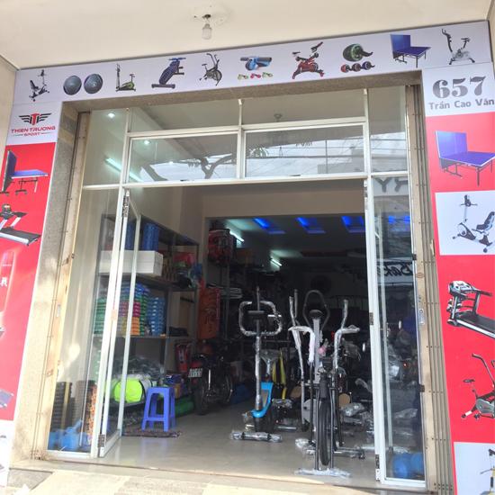 Cửa hàng xe đạp tập thể dục tại Đà Nẵng