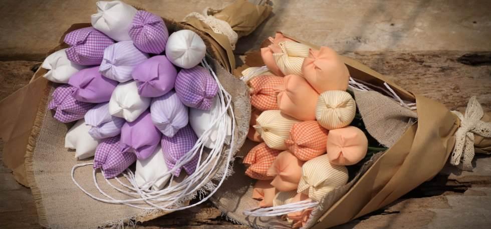 Hoa vải handmade