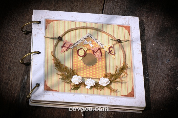 bán album handmade home scrapbook