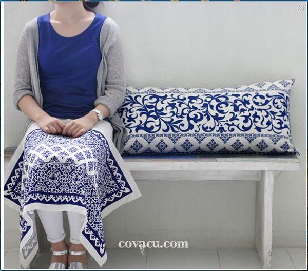 bán vải may đẹp trang trí aztec