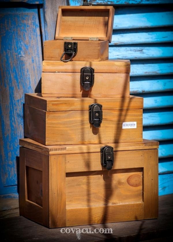 Bán hộp gỗ có khóa