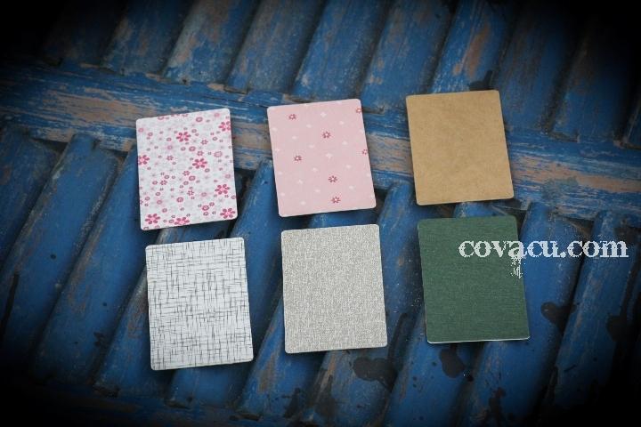 Bán giấy hoa văn phụ kiện handmade