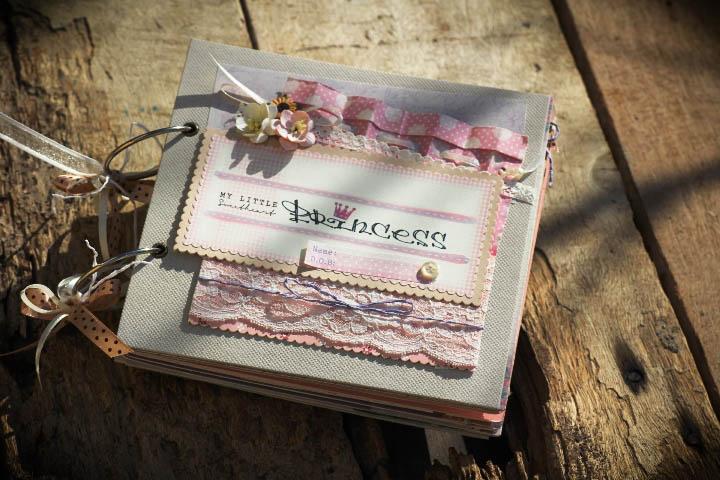 Album handmade - quà tặng cho bé gái