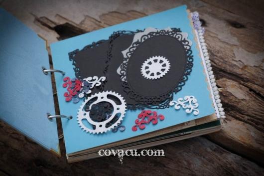 Album ảnh handmade tặng kèm các phụ kiện DIY