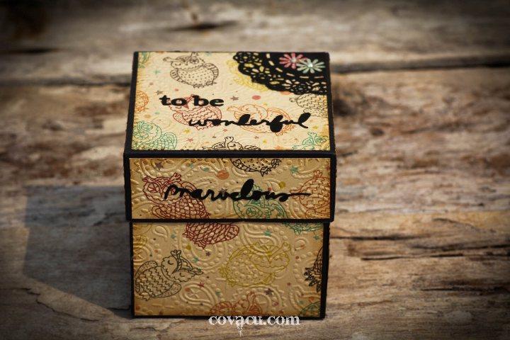 Album hình handmade dạng hộp