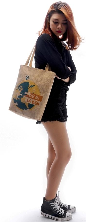 Túi xách phong cách bụi