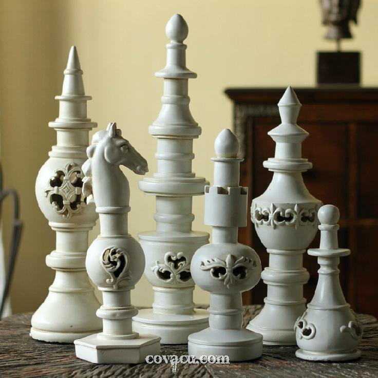 Bộ cờ vua trang trí