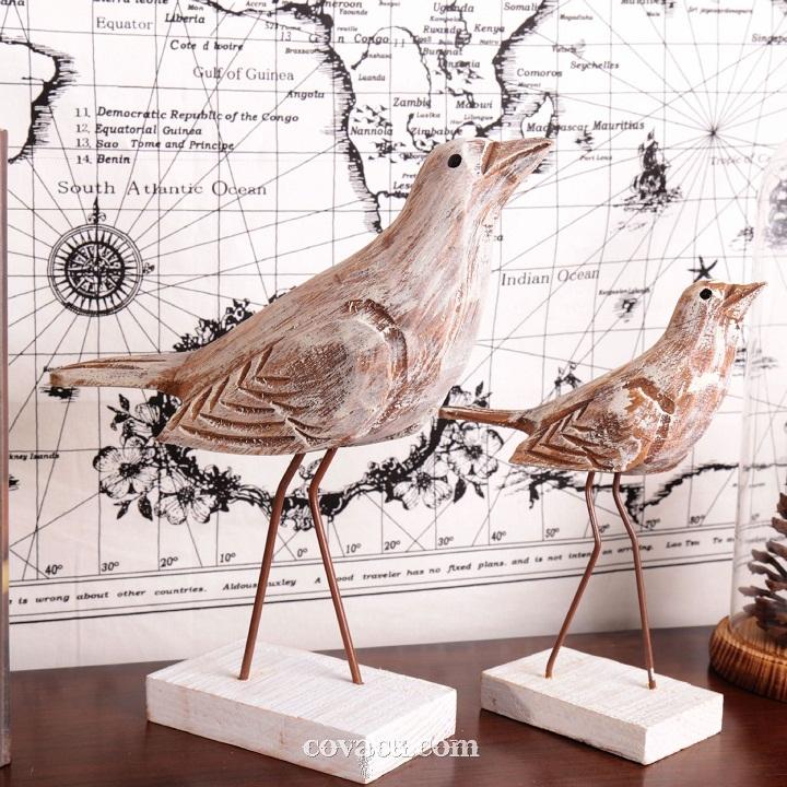 Cặp chim gỗ đẹp