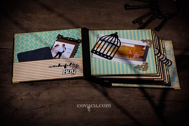 Album ảnh handmade vintage