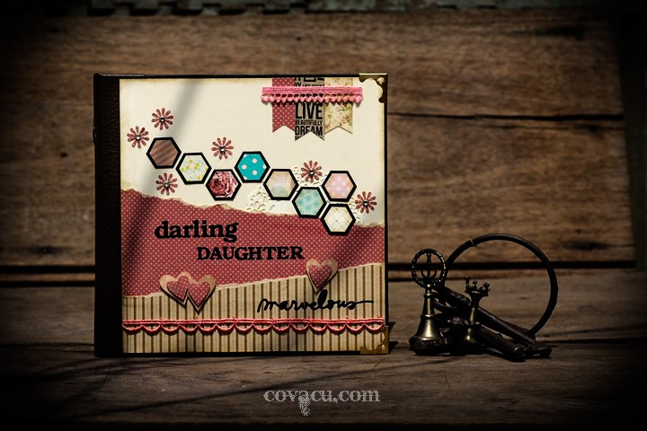 Scrapbook cao cấp darling daughter