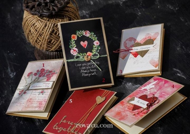 Thiệp Valentine đẹp