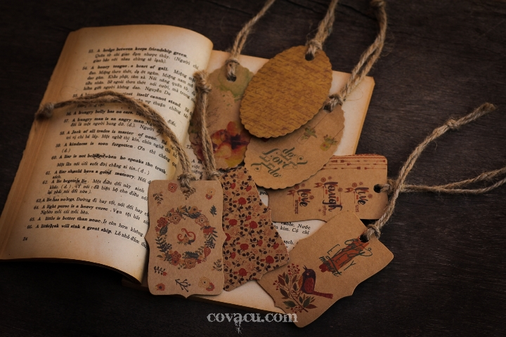 Đánh dấu trang handmade đẹp