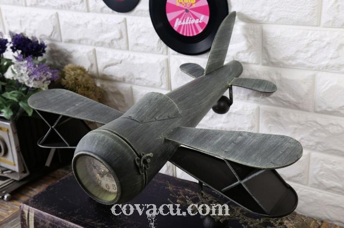 Đồng hồ trang trí mô hình máy bay