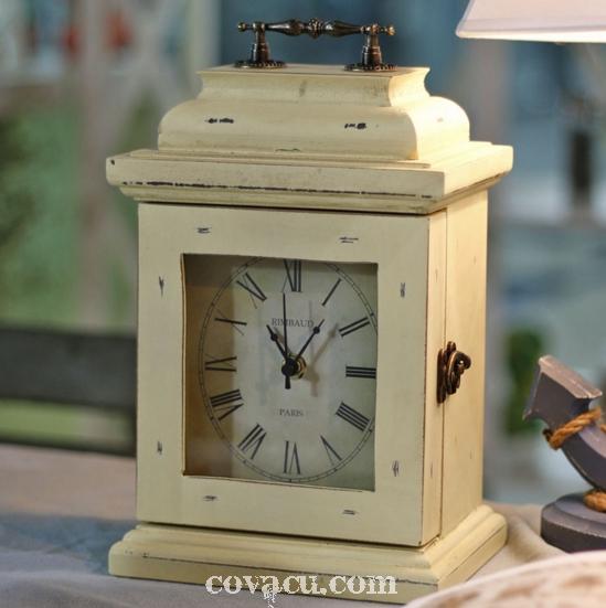 Đồng hồ, tủ móc khóa 2 in 1