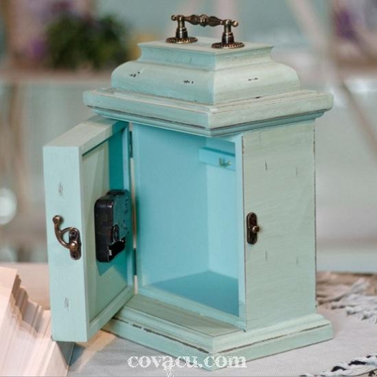 Đồng hồ, tủ móc khóa vintage