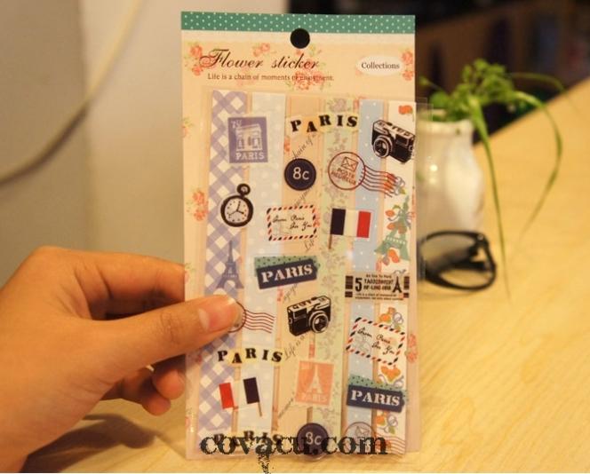 Sticker trang trí handamde