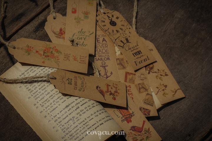 tag đánh dấu trang handmade