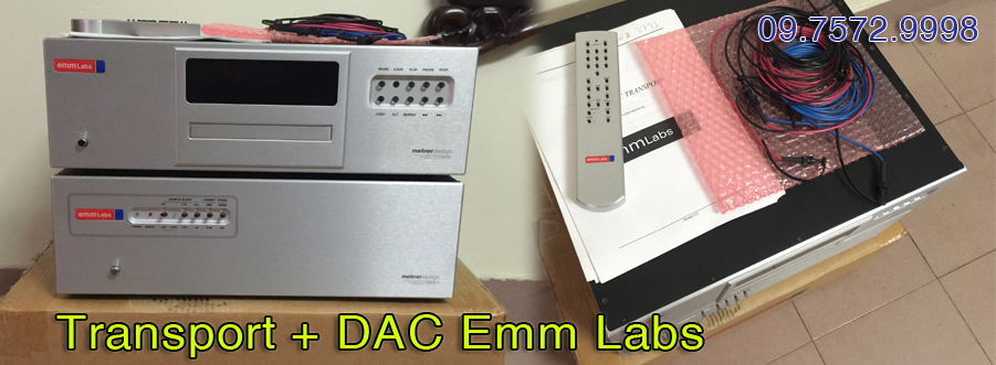 Transport + DAC Emm Labs hộp xốp - LIKE NEW