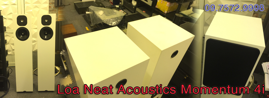 Loa Neat Acoustics Momentum 4i - LIKE NEW - UK