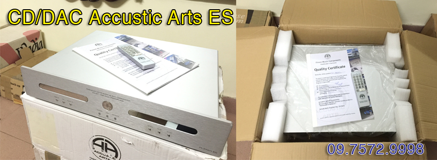 CD/DAC Accustic Arts ES