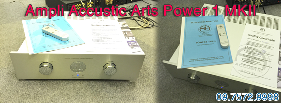 Ampli Accustic Arts Power 1 MKII